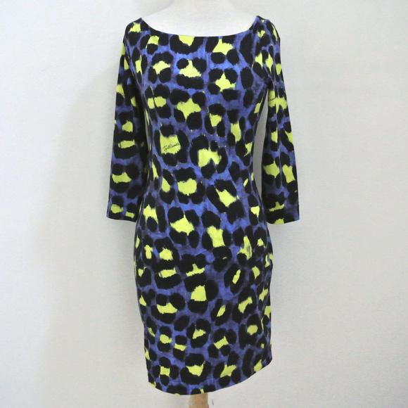 9f15da756b383 Just Cavalli Dresses | Animal Print Jersey Dress | Poshmark